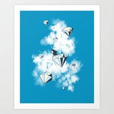 Like a Diamond in the Sky Art Print