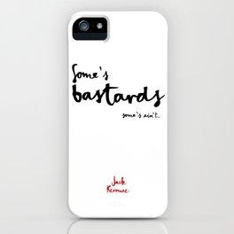 Bastards-white iPhone Case