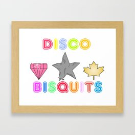 Disco Biscuits 2 Framed Art Print