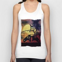 catwoman Tank Tops featuring catwoman by Ancello