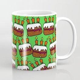 Birthday Cake Background Design Coffee Mug