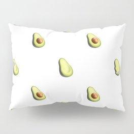 'ave an Avo! - White Print Pillow Sham