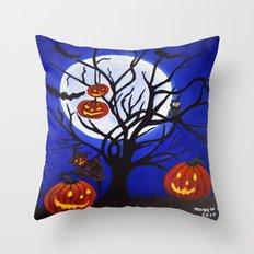 Halloween-5 Throw Pillow