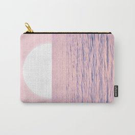 Pink on the Sea Carry-All Pouch