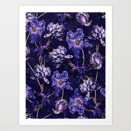 Night Garden XXVIII Art Print