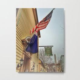 Charlestown Drinking Hole Metal Print