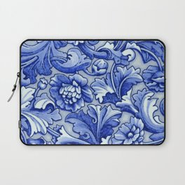 Blue and White Porcelain Laptop Sleeve