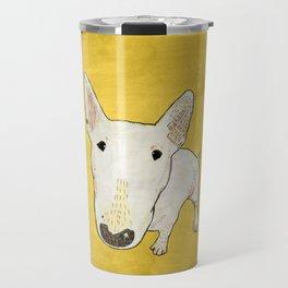 English Bull Terrier pop art Travel Mug