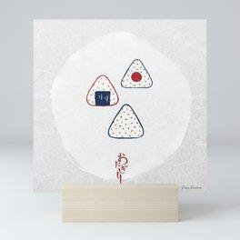 Onigiri (おにぎり) Mini Art Print