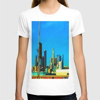 cityscape T-shirts featuring Cityscape by Life Of A Lens Studios