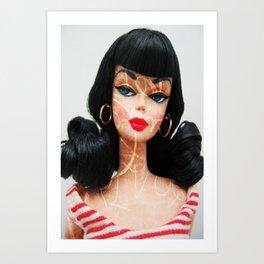 Roxie Doll Art Print