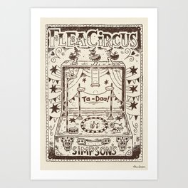 Flea Circus #20 Art Print