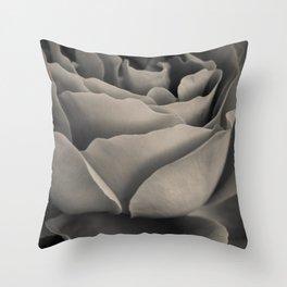 Curves form rose Throw Pillow
