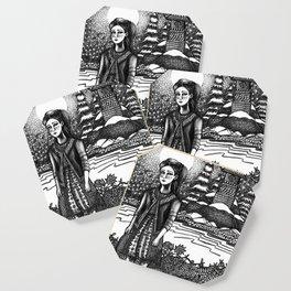 snow girl Coaster