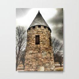Queen Anne Style - Architectural Park - Davenport, Iowa Metal Print