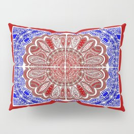 RWB Bandanna Pillow Sham