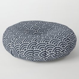 Seigaiha Floor Pillow