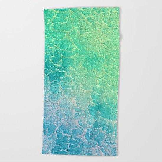 Tropical Waters Beach Towel