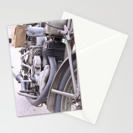 Old motorbike Stationery Cards