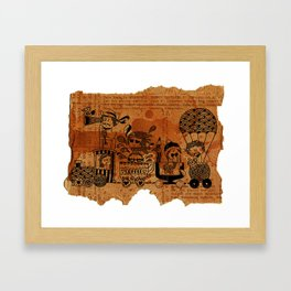 Choo-Choo Train Framed Art Print