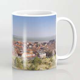 West-Terschelling and Brandaris lighthouse on Terschelling island, The Netherlands Coffee Mug