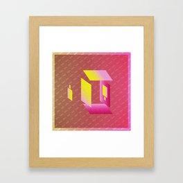Music in Monogeometry : Camera Obscura Framed Art Print