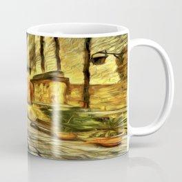 Mdina Street Malta Van Gogh Coffee Mug