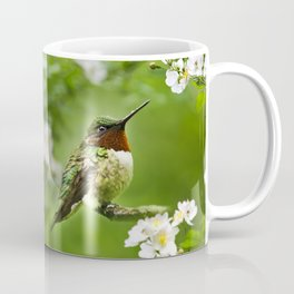 Hummingbird Flora Coffee Mug