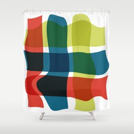 Check Shower Curtain