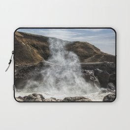 Mist Creature Rising from Spouting Horn Laptop Sleeve