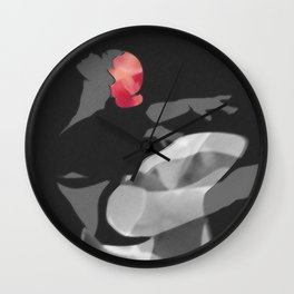 Suspended Movement II Wall Clock