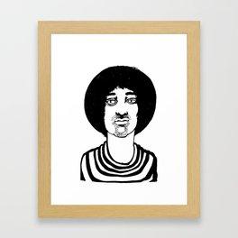 dizzy dude Framed Art Print