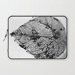 Skeleton Leaf Laptop Sleeve