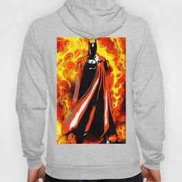 Bat on Fire Hoody