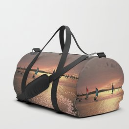 Sunset Sail In Bermuda Duffle Bag