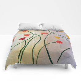 Tall Poppy Comforters