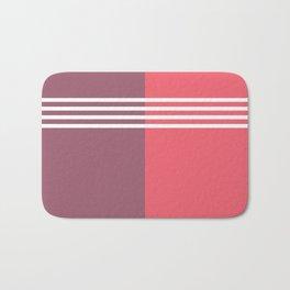 colour block Bath Mat