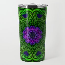 Queen of Heart Kalaeidoscope Travel Mug