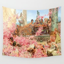 The Roses of Heliogabalus by Sir Lawrence Alma-Tadema Wall Tapestry