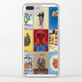 La Lotería de Frida Clear iPhone Case