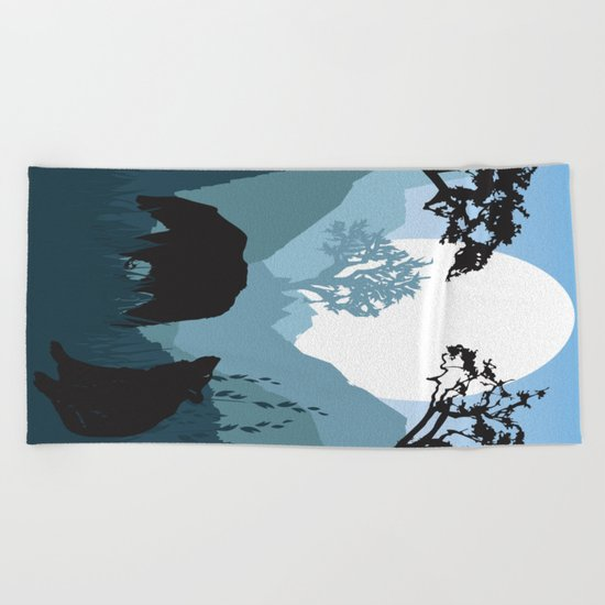 My Nature Collection No. 49 Beach Towel