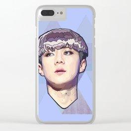 Violet portrait Clear iPhone Case
