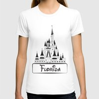 florida T-shirts featuring Florida by Harkiran Kalsi