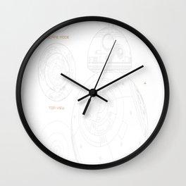 Astro-Droid-BB-8 Wall Clock