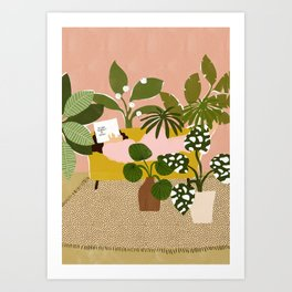 Allow Yourself To Grow Art Print