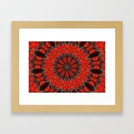 Kaleidoskop Beeren Framed Art Print