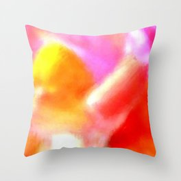 Heart of the Snapdragon Throw Pillow