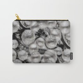 BLACK LACE AND PEARLS Carry-All Pouch