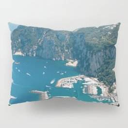 Italy, Capri Landscape View Pillow Sham
