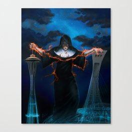 - - SHADOWRUN - - Boundless Mercy Cover - -  Canvas Print